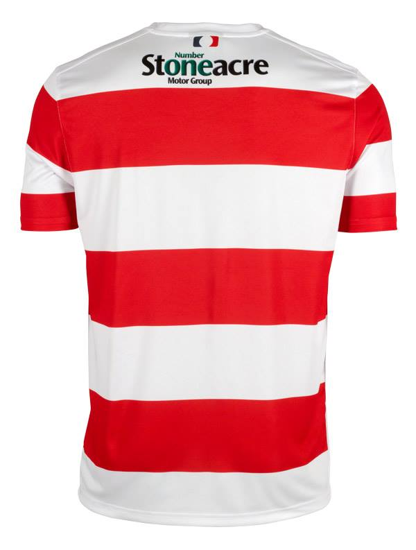New doncaster rovers kit 2015 16 drfc avec home shirt 15 for Stone acre