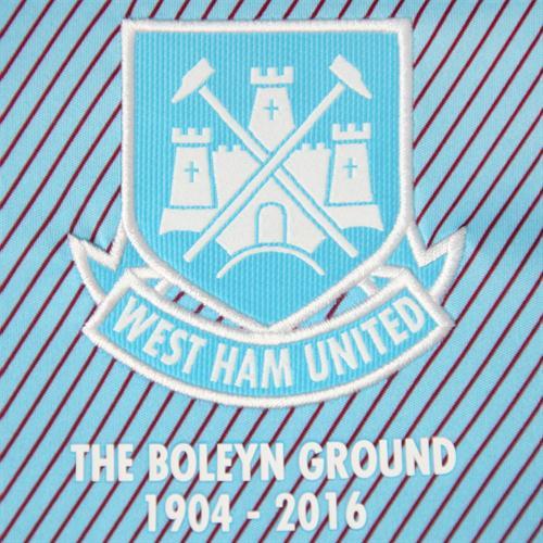 West Ham Away Kit Crest 2015 2016