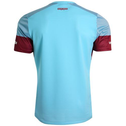 West Ham Away Shirt Back