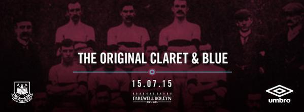 West Ham Kit Teaser Umbro