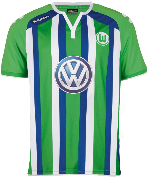 New Wolfsburg Away Shirt 2015-16- Kappa VFL Wolfsburg Alternate Kit 15-16