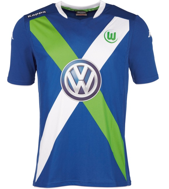 Wolfsburg Third Kit 2015 16