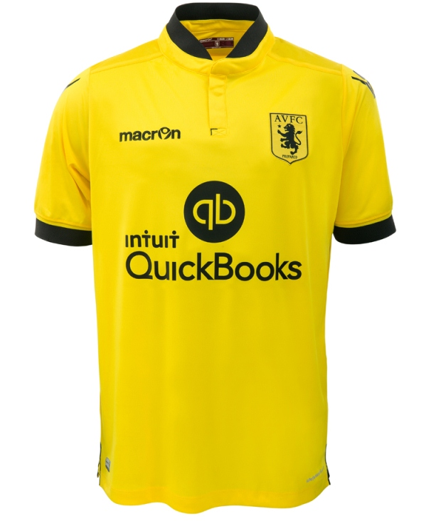 Yellow Aston Villa Shirt 2015 2016
