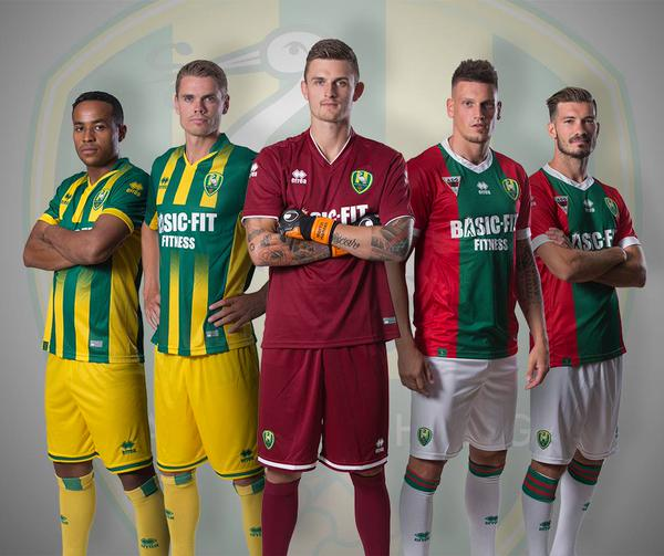 New ADO Den Haag Kits 15/16- Errea Den Haag Jerseys 2015-2016 Home Away