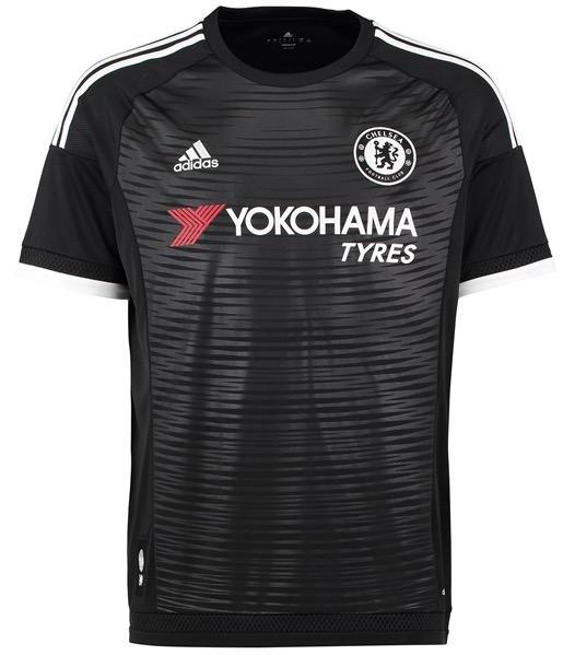 New Chelsea Third Kit 15/16- Black Chelsea Shirt 2015-2016