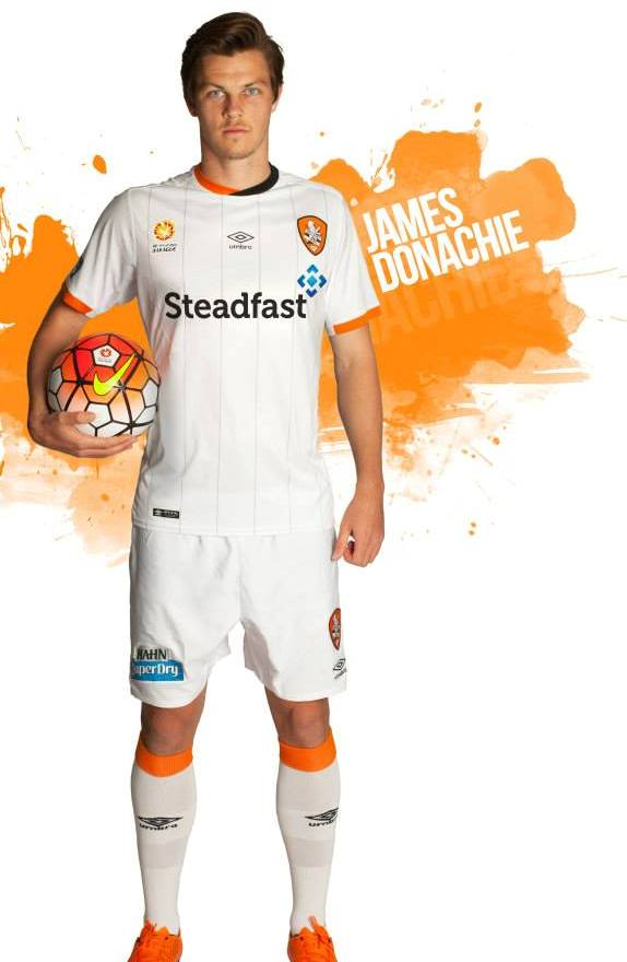 Brisbane Roar Away Jersey 2015 2016