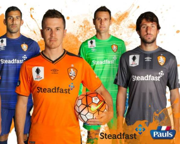 New Brisbane Roar Kit 2015/16- Umbro Roar Jerseys 2015-2016 A-League