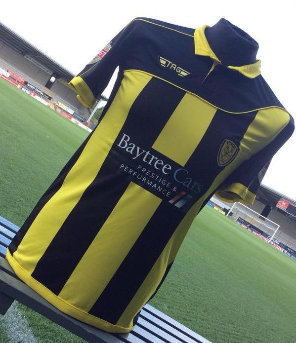 Burton Albion Kit 2015 16