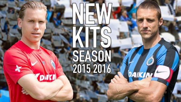 New Club Brugge Kits 2015-16 Daikin Brugge Jerseys 15-16 Home Away