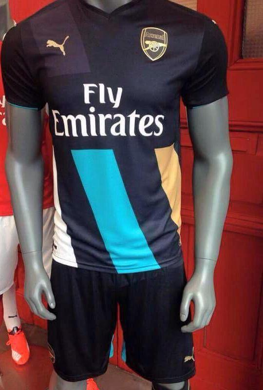 newest f3def 93408 New Arsenal Third Kit 20152016 Arsenal Cup Jersey 1516 by Puma