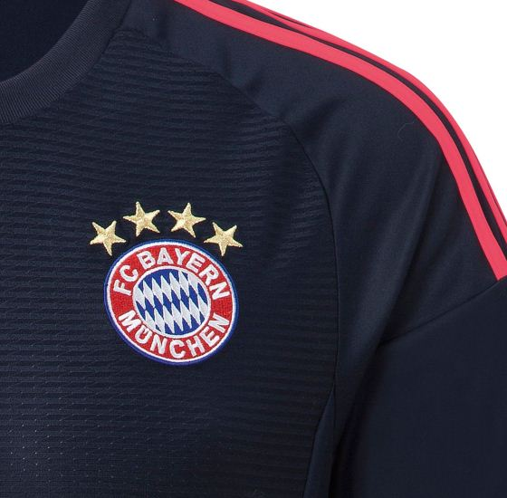 Bayern Champions League Kit 2015-16 Adidas New FC Bayern Munchen Third Kit 15-16
