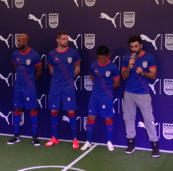 New Mumbai City FC Jersey 2015- Mumbai City Puma Kit ISL 2015