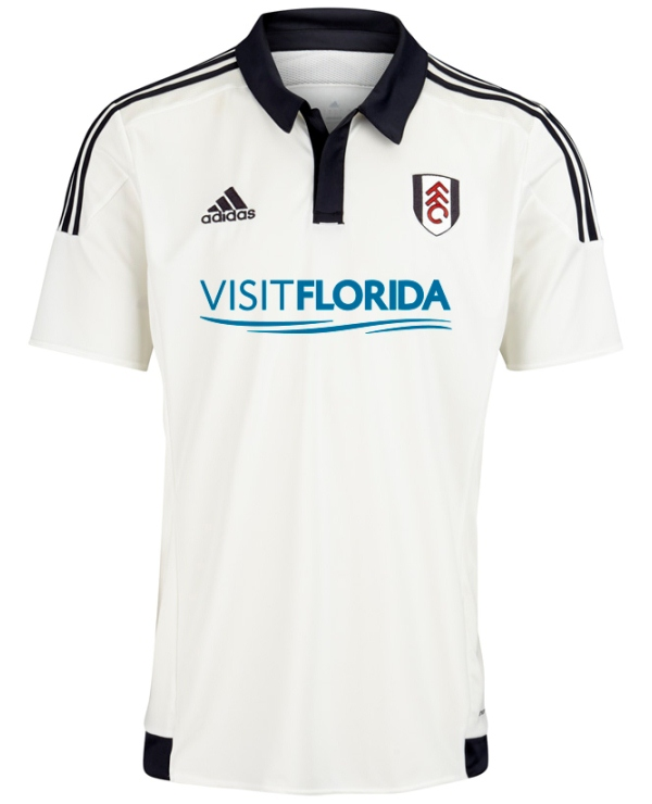New Fulham Kit 2015-2016 | Fulham FC Visit Florida Sponsor Shirts 15-16