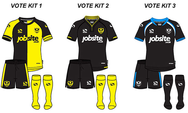 Pompey Third Kit Vote