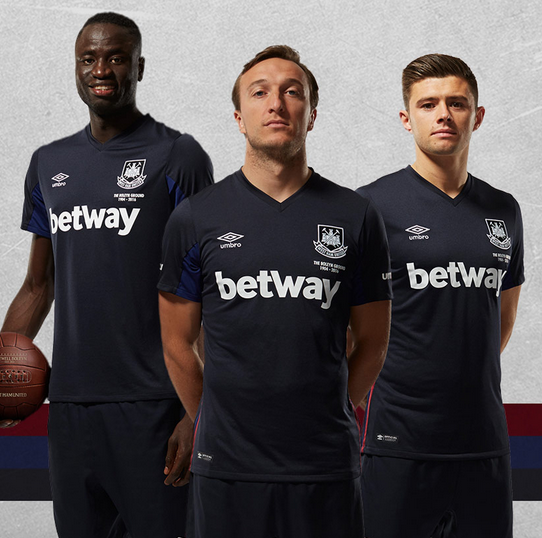 West Ham Third Shirt 15 16