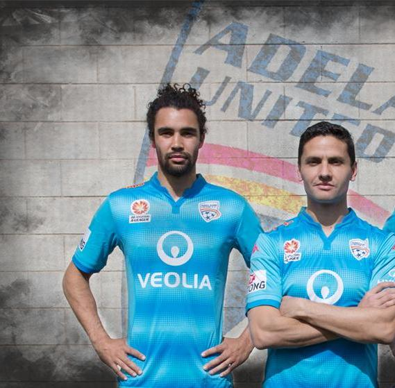 Adelaide United Blue Jersey Third Kit 2015