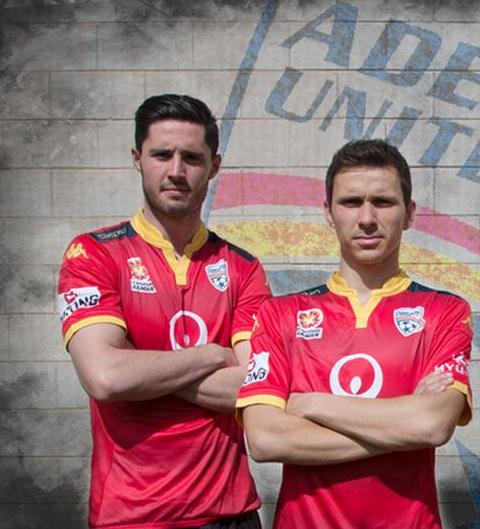 Adelaide United Home Jersey 2015 2016