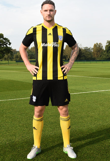 New Cardiff City Third Kit 15-16- Cardiff Yellow Jersey 2015-2016