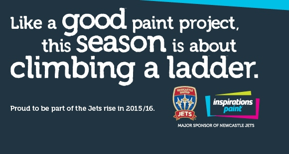 Newcastle Jets Jersey 2015-2016- New BLK Home Away Third Kits 2015-16 Inspirations Paint