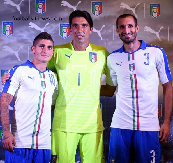 Italy Away Kit 2015 2016