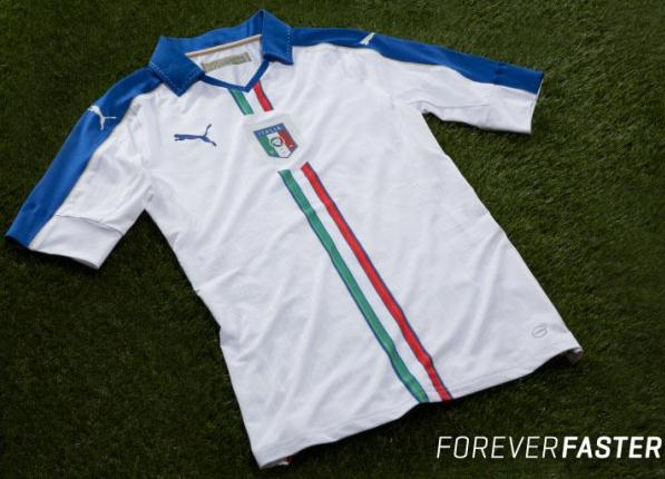New Italy Away Jersey 2015-2016- Puma Azzurri Away Kit 2015-16