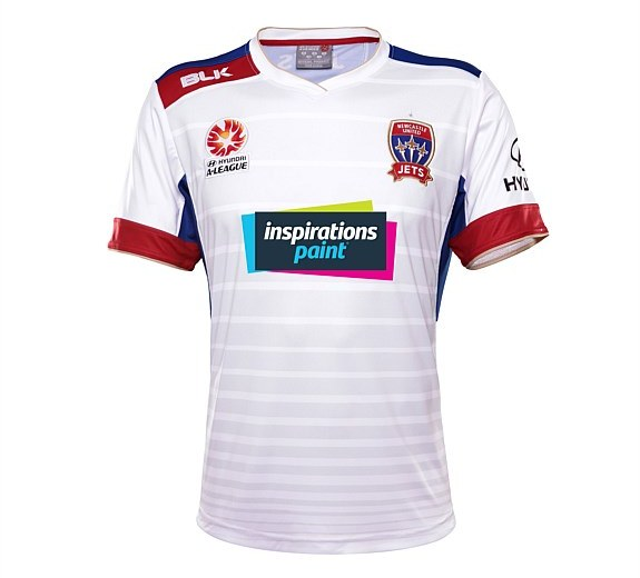 Newcastle Jets Inspirations Paint Sponsor