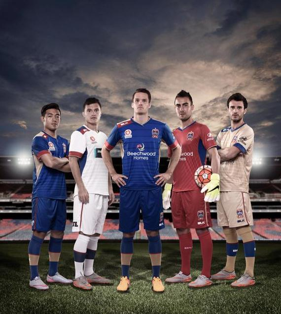 Newcastle Jets Kit 2015 16