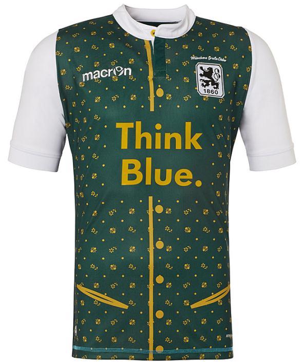 New TSV 1860 Munich Oktoberfest Soccer Jersey 2015