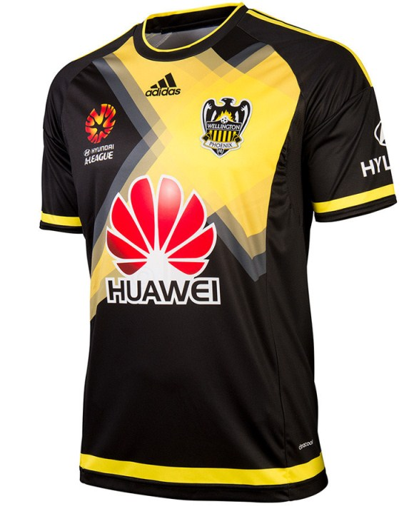 New Wellington Phoenix Jersey 2015-2016- Phoenix A-League Kits 2015-16
