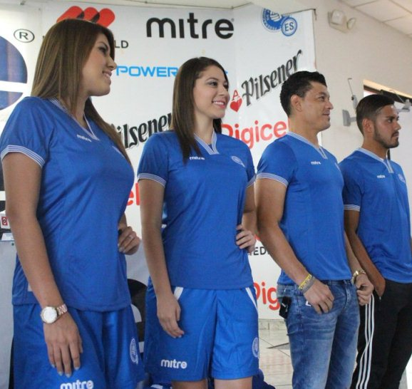 New El Salvador Jersey 2016- El Salvador Mitre Home Kit 2015-2016