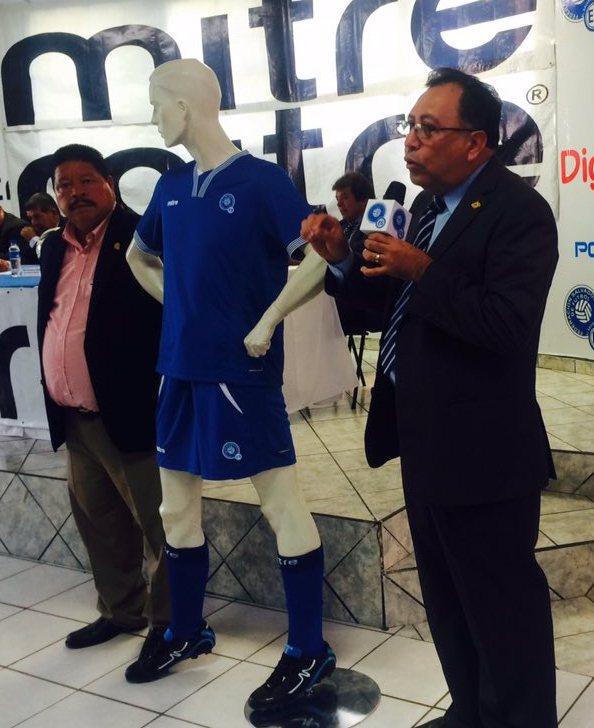 El Salvador Soccer Jersey 2016