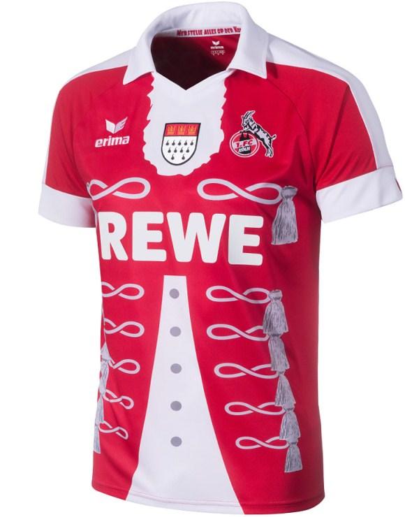 New FC Koln Karneval Jersey 2015- Erima Cologne Carnival ...