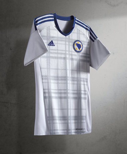 New Bosnia Away Kit 2016- Adidas Bosnia Herzegovina BiH Alternate Jersey 2016