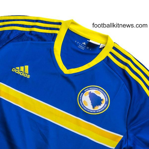 BIH Football Shirt 2016 17 Closeup