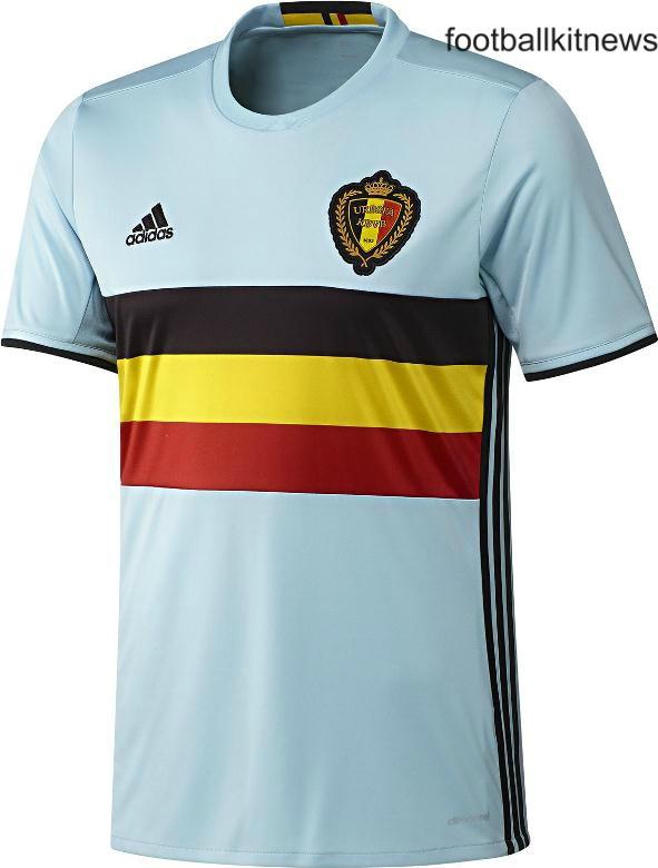 Belgium Away Kit Euro 2016