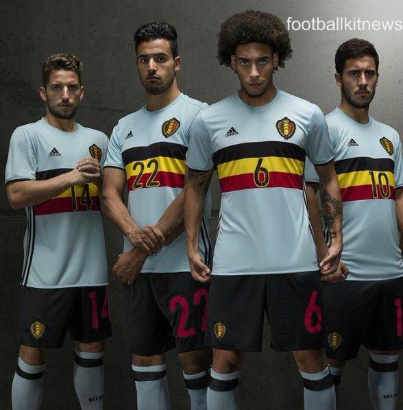 Belgium Away Top Euro 2016