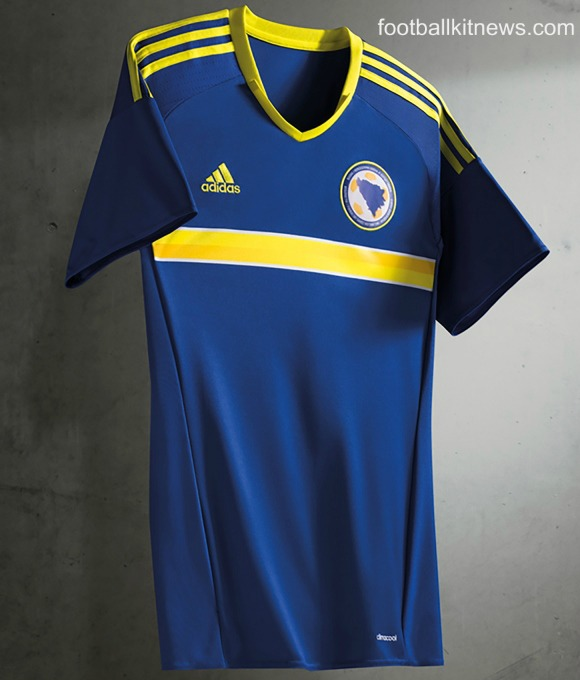 New Bosnia Shirt Euro 2016- Adidas BiH Home Jersey 2016-17