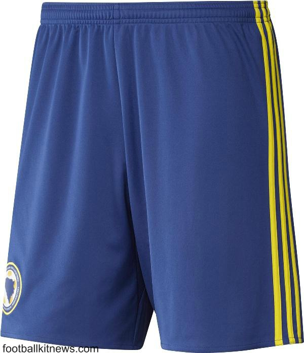 Bosnia Football Shorts 2016 17