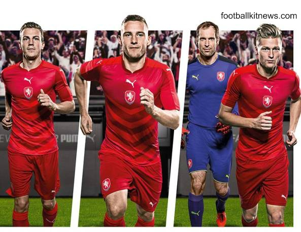 Czech Republic Euro 2016 Jersey