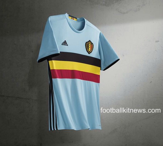 New Belgium Away Shirt Euro 2016- Belgium Alternate Jersey 2016-17