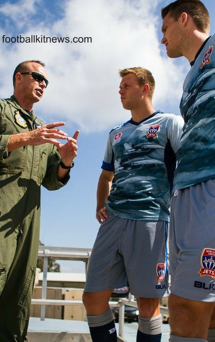 Newcastle Jets Airforce Jersey 2015