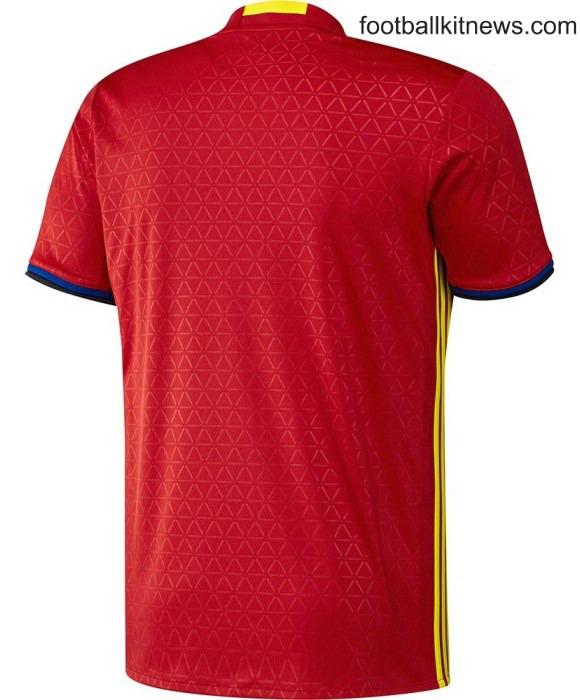 Spain Euro 2016 Shirt Back