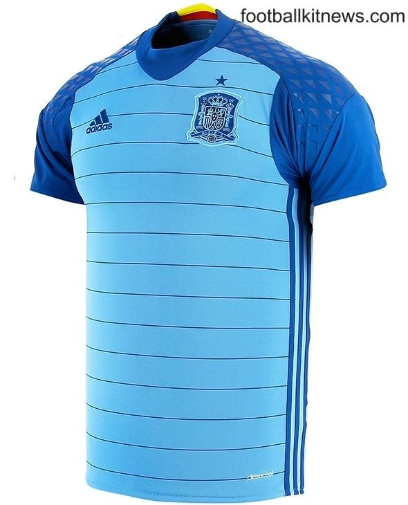 Spain Goalkeeper Shirt 2016