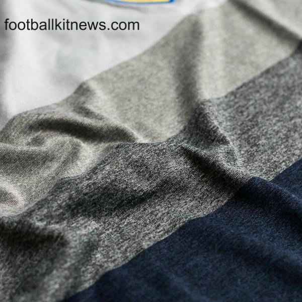 Sweden Away Kit 2016 17 Closeup