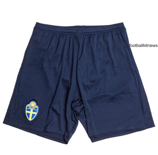 Sweden Away Shorts Euro 2016