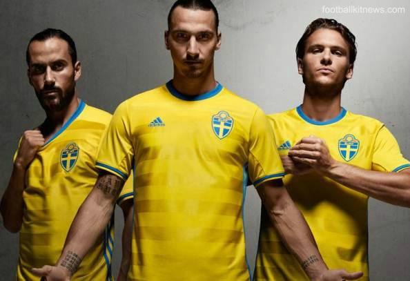 Sweden Euro 2016 Jersey
