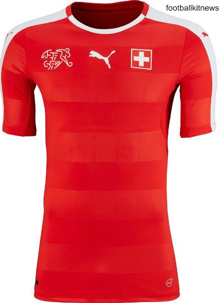 Switzerland Euro 2016 Jersey