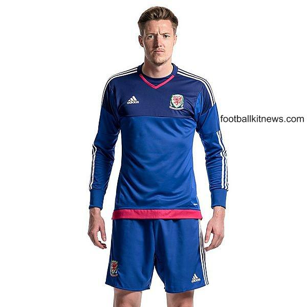 Wales Away Goalkeeper Jersey Euro 2016