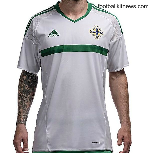 White NI Away Jersey Euro 2016