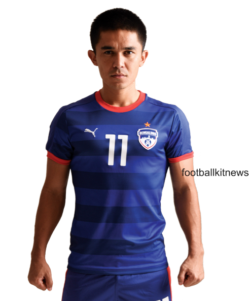 New Bengaluru FC Jersey 2016- Puma Bangalore I-League Home Kit 2015-16